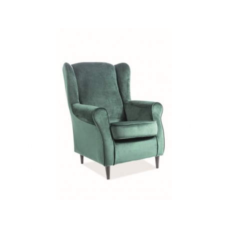 thumb Кресло Baron Velvet Зеленый 1