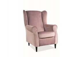 Кресло Baron Velvet Античный Розовый