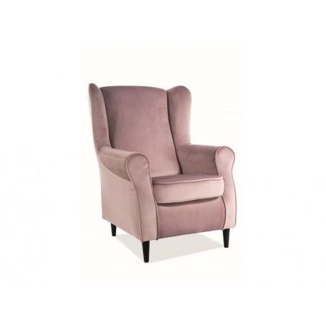 thumb Кресло Baron Velvet Античный Розовый 1