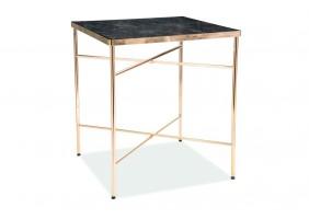 Журнальный стол Cali 45х45 Мармур/Золото