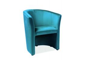Кресло TM-1 Velvet Бирюзовый