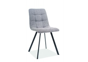 Кресло Clip Серый/Черный