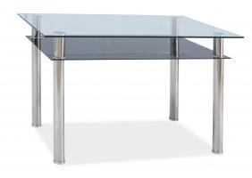 Стол обеденный Madras 90 х 60 см Прозрачный