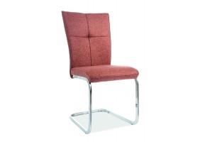Кресло H-190 Кирпичный/Хром
