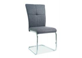 Кресло H-190 Серый/Хром