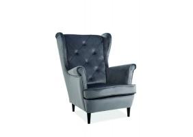 Кресло Lady Velvet Серый