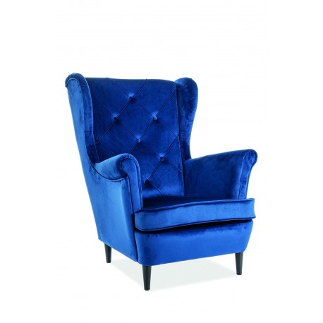 thumb Кресло Lady Velvet Синий 1