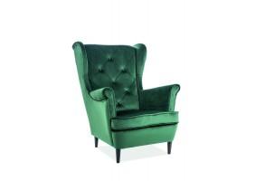 Кресло Lady Velvet Зеленый
