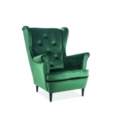 thumb Кресло Lady Velvet Зеленый 1
