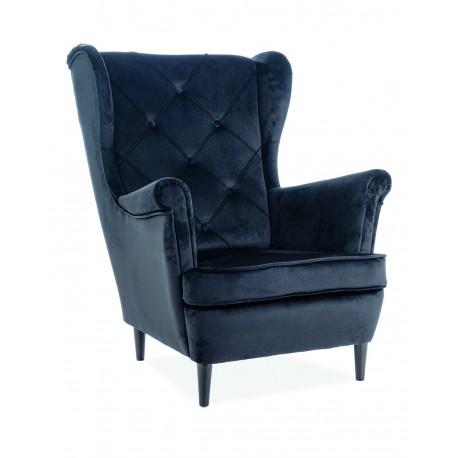 thumb Кресло Lady Velvet Черный 1