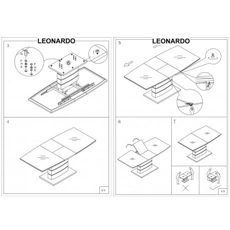 thumb Стол обеденный Leonardo 140х80 Дуб 10