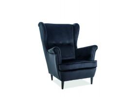 Кресло Lord VELVET Черный