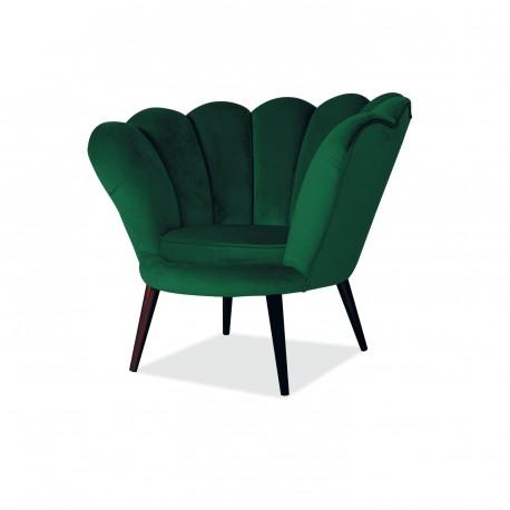 thumb Кресло Magnolia Velvet Зеленый 1