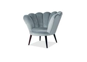 Кресло Magnolia Velvet Серый