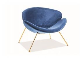 Кресло Major Velvet Синий