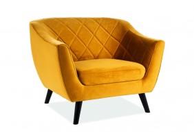 Кресло Molly Velvet 1 Кари