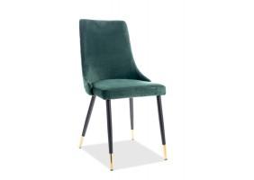 Кресло Piano Velvet Зеленый/Черный
