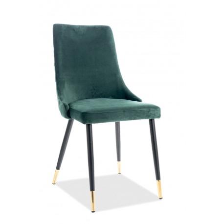thumb Кресло Piano Velvet Зеленый/Черный 1