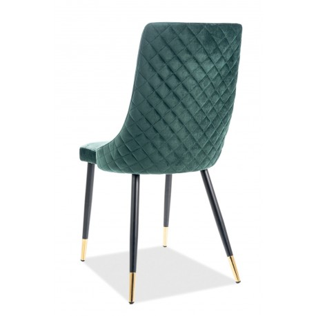thumb Кресло Piano Velvet Зеленый/Черный 5