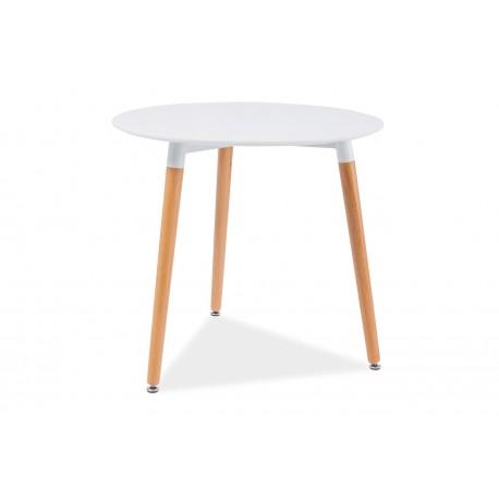 thumb Стол обеденный Nolan III 80х80 Белый/Бук 1