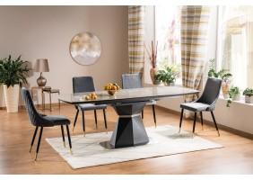 Стол обеденный Cortez Ceramic 90X160 Серый Эффект мармура