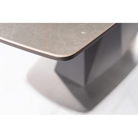 thumb Стол обеденный Cortez Ceramic 90X160 Серый Эффект мармура 14