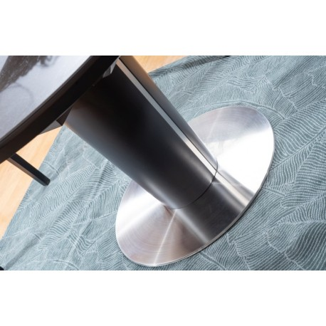 thumb Стол обеденный Orbit 120 Ceramic Серый Эффект Мармура/Антрацит 4