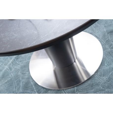 thumb Стол обеденный Orbit 120 Ceramic Серый Эффект Мармура/Антрацит 5