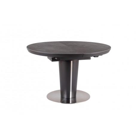 thumb Стол обеденный Orbit 120 Ceramic Серый Эффект Мармура/Антрацит 7