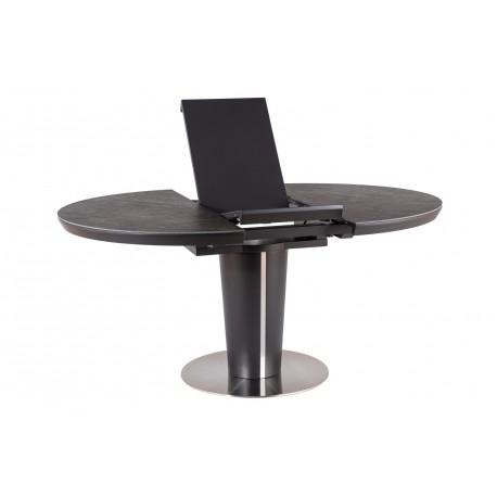 thumb Стол обеденный Orbit 120 Ceramic Серый Эффект Мармура/Антрацит 8