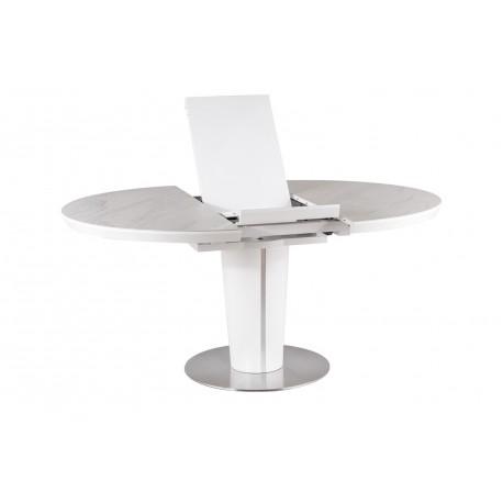 thumb Стол обеденный Orbit 120 Ceramic Белый Эффект Мармура/Белый Мат 5