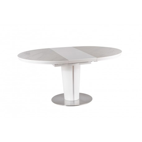 thumb Стол обеденный Orbit 120 Ceramic Белый Эффект Мармура/Белый Мат 6
