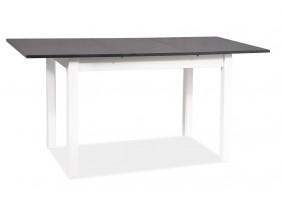 Стол обеденный Horacy 75x125 (170) Антрацит/Белый Мат