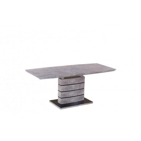 thumb Стол обеденный Leonardo 80X140 Серый 4