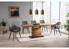 Стол обеденный Leonardo 90х160 Дуб