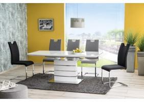 Стол обеденный Leonardo 90х160 Белый Лак