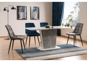 Стол обеденный Calipso 68X110 Белый/Серый