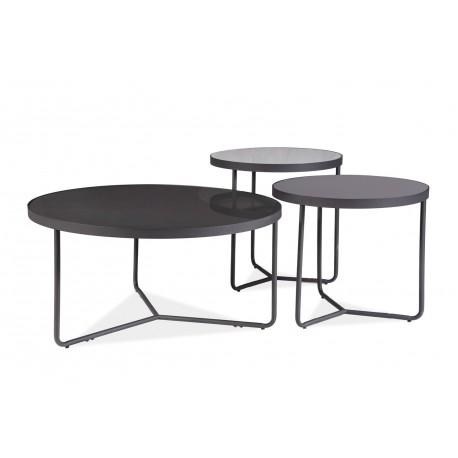 thumb Журнальный столик Artemida Серый+Черный 1