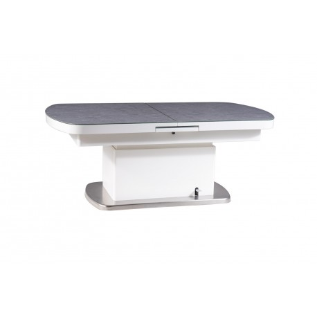 thumb Стол трансформер Megara II Серый/Белый 2