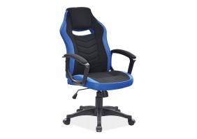 Кресло Camaro Синий/Черный