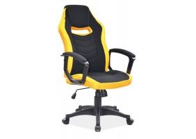 Кресло Camaro Желтый/Черный