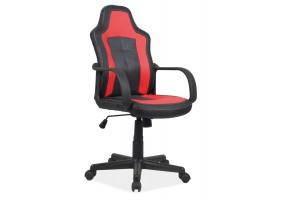 Кресло Cruz Черно/Красный