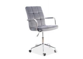 Кресло Q-022 Velvet Серый