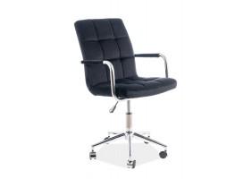 Кресло Q-022 Velvet Черный