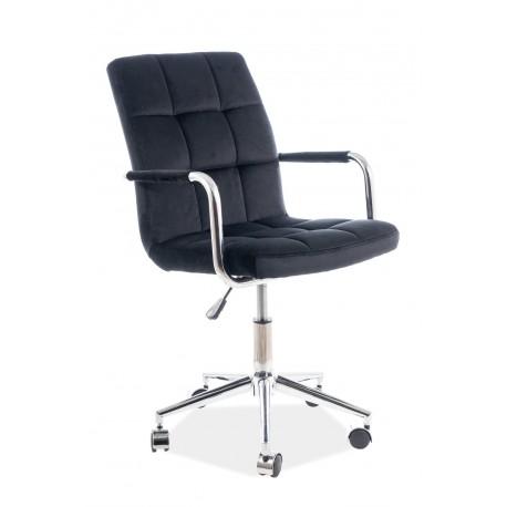thumb Кресло Q-022 Velvet Черный 1
