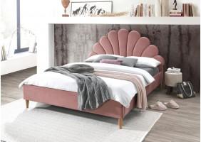 Двуспальная кровать Santana Velvet 160X200 Античный Розовый