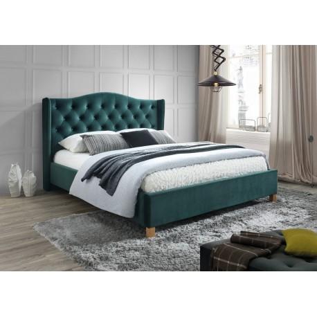 thumb Двуспальная кровать Aspen Velvet 180X200 Зеленый 1