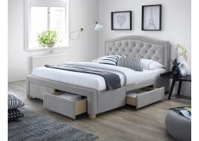 Полуторная кровать Electra 140X200 Серый