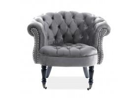 Кресло Philips Velvet Серый