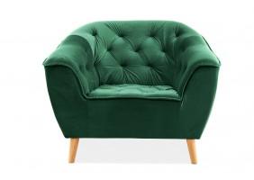 Кресло Galaxy 1 Velvet Зеленый